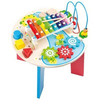 Small foot® Motorik- og Musikbord 2 in 1 - flerfarvet - Baby Spisetid - Array