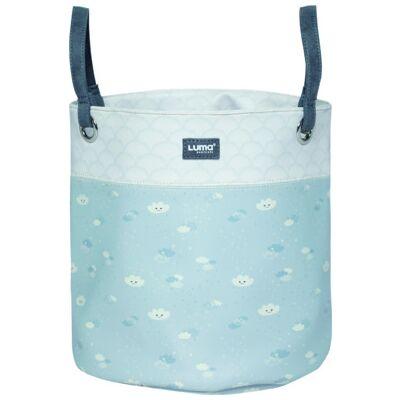 Luma  ® Babypleje Legetøj Dejlig kurv Himmel midt - grå - Baby Spisetid - Array