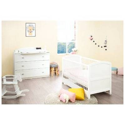 Pinolino  Economy sæt Laura bred 2-dels - hvid - Baby Spisetid - Array