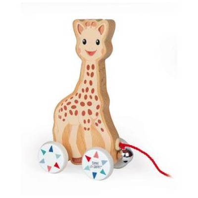 Janod ® Sophie la girafe - træk-legetøj - flerfarvet - Baby Spisetid - Array