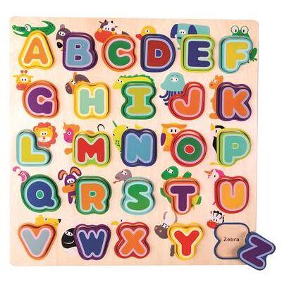 Bino  Engelsk Alfabet med dyr - Baby Spisetid - Array