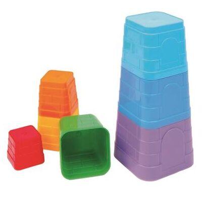 Pyramid Bino Pyramid sand udformes - Baby Spisetid - Pyramid