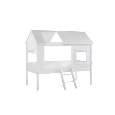 VIPACK Treehouse Seng Charlotte Hvid - hvid - Gr.90x200 cm - Baby Spisetid - Array