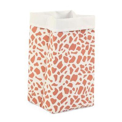 CHILDHOME opbevaringsboks hvid giraf 32 x 32 x 60 cm - beige - Baby Spisetid - Array