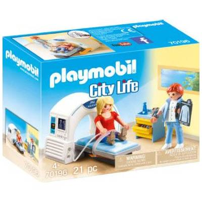 Playmobil City Life Hos specialist: Radiolog 70196 - flerfarvet - Baby Spisetid - Playmobil