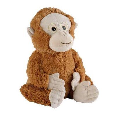 warmies varme materiale dyr Orang - Utan - orange - Baby Spisetid - Array
