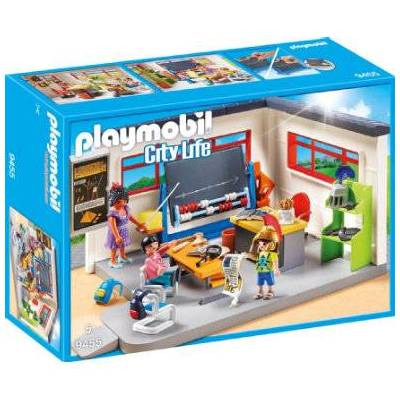 Playmobil Bylivslokale Historielektioner 9455 - flerfarvet - Baby Spisetid - Playmobil