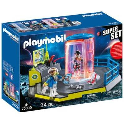 Playmobil City Life SuperSet Galaxy Police Prison 70009 - Baby Spisetid - Playmobil