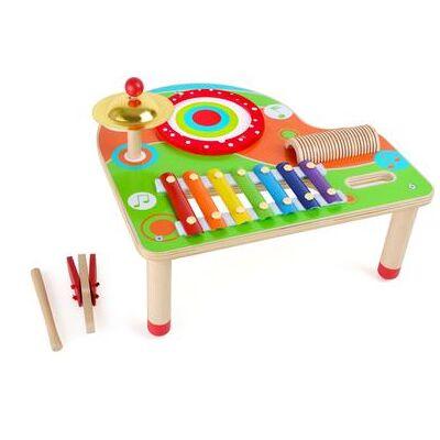 small foot musik noder - flerfarvet - Baby Spisetid - Array