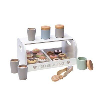 MUSTERKIND Kaffe- og kagekasse Vanilje hvid / flerfarvet - Baby Spisetid - Array