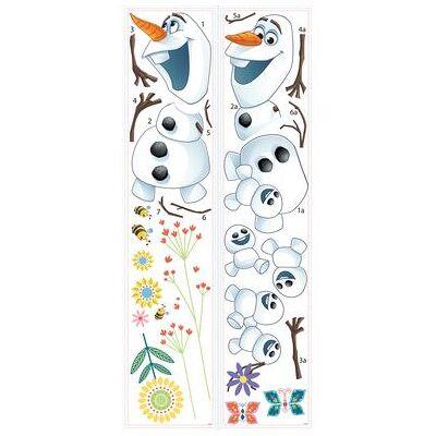 Disney RoomMates Vægklistermærker - DISNEY Frozen Olaf i foråret - flerfarvet - Baby Spisetid - Disney