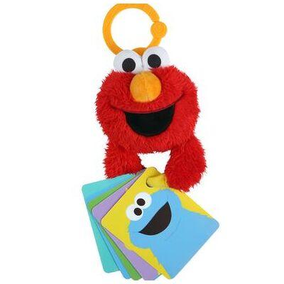 bright starts ™ Sesame Street Developmental Plys - flerfarvet - Baby Spisetid - Array