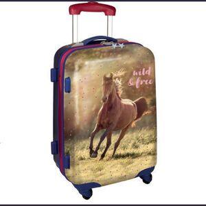 COPPENRATH Hard shell trolley wild & Go gratis - hestelskere - flerfarvet