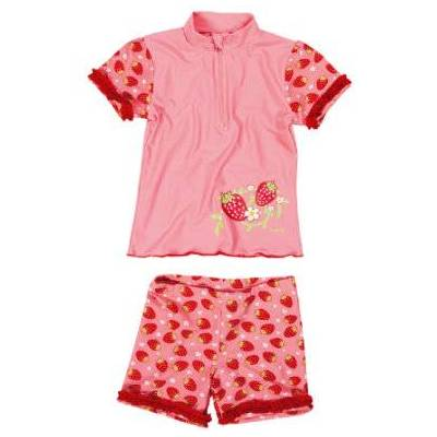 Playshoes UV-beskyttelse Badesæt jordbær, rosa - rosa/pink - Pige - Børnetøj - Array