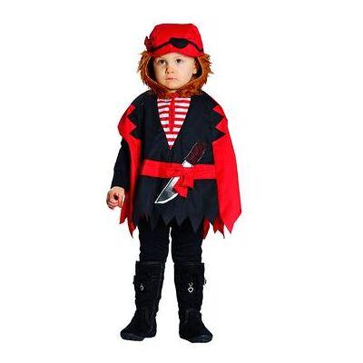 Rubies Kostume Pirat Cape - flerfarvet - Dreng - Børnetøj - Array