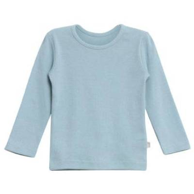 WHEAT  Basic Boys Shirt ashleyl blue - blå - Gr.fra 6 år - Dreng - Børnetøj - Array