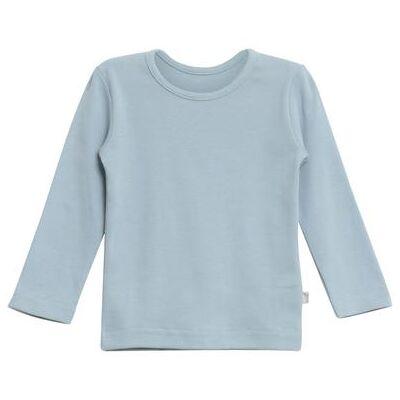 WHEAT  Basic Boys Shirt ashleyl blue - blå - Gr.fra 4 år - Dreng - Børnetøj - Array