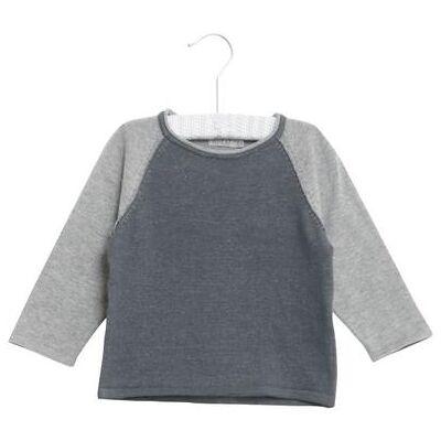 Wheat Strikket Pullover Bashir darkblue - flerfarvet - Dreng - Børnetøj - Array