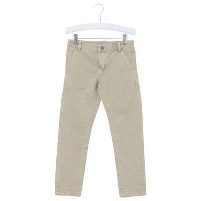 Wheat Chino darksand - beige - Gr.fra 6 år - Dreng - Børnetøj - Array
