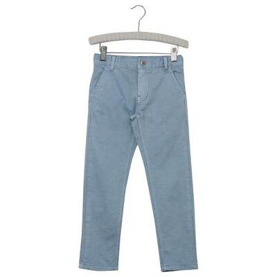 Wheat Chino dustyblue - blå - Gr.fra 3 år - Dreng - Børnetøj - Array