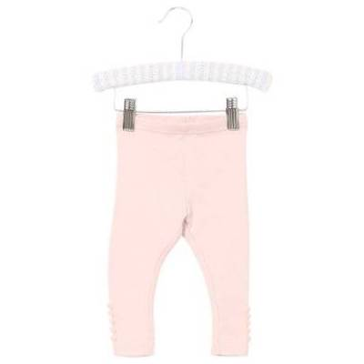 WHEAT Rib Leggings powder - rosa/pink - Gr.fra 9 mdr. - Pige - Børnetøj - Array