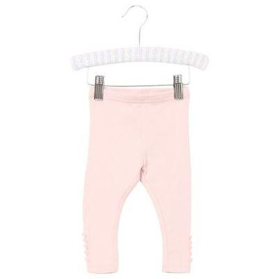 WHEAT Rib Leggings powder - rosa/pink - Gr.fra 3 mdr. - Pige - Børnetøj - Array