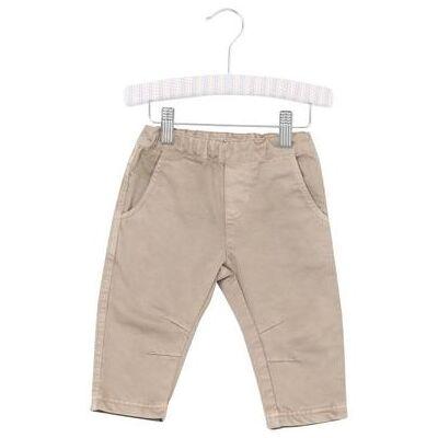 Wheat Bukser Noah darksand - beige - Gr.fra 1 år - Dreng - Børnetøj - Array