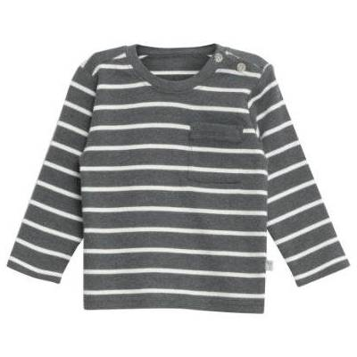 WHEAT  Shirt Jesper steelmelange - grå - Gr.fra 6 år - Dreng - Børnetøj - Array