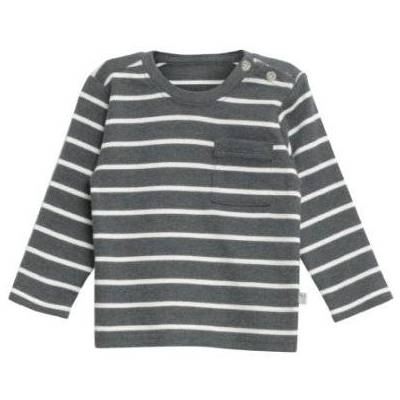 WHEAT  Shirt Jesper steelmelange - grå - Gr.fra 4 år - Dreng - Børnetøj - Array