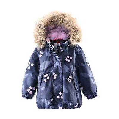 Reima Vinterjakke Muhvi blå - flerfarvet - Gr.Babymode (6-24 måneder) - Pige - Børnetøj - Array