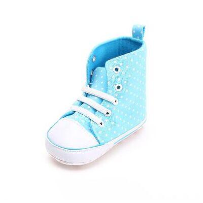Staccato hjemmesko prikket - blå - Gr.Babymode (6-24 måneder) - Dreng - Børnetøj - Array