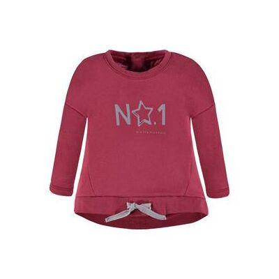 Bellybutton  Sweatshirt - rød - Gr.Babymode (6-24 måneder) - Pige - Børnetøj - Array