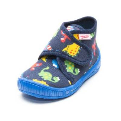 Superfit  Boys Sutsko Bully Dino ocean kombi - blå - Gr.18 - Dreng - Børnetøj - Array