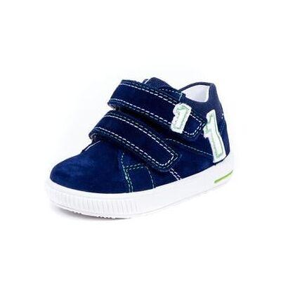Superfit  Sko Moppy nautic kombi (M) - blå - Gr.Babymode (6-24 måneder) - Dreng - Børnetøj - Array