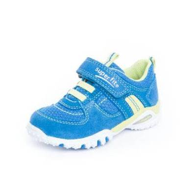 Superfit  Sko Sports4 Mini bluet kombi (M) - blå - Gr.22 - Dreng - Børnetøj - Array