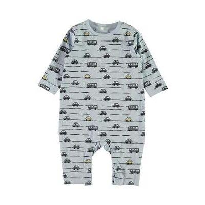 name it Boys sleep overalls Nbmermario cashmere blue - blå - Gr.Nyfødte (0-6 måneder) - Dreng - Børnetøj - Array
