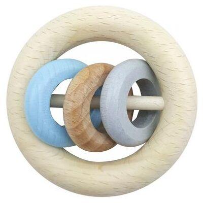 Hess rangle 3 ringe blue - blå - Børnetøj - Array