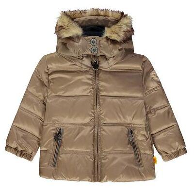 Steiff Vinterjakke brun - beige - Gr.86 - Dreng - Børnetøj - Array