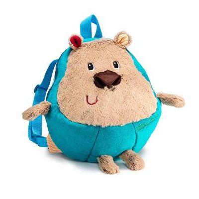 Lilliputiens plys-rygsæk- Cesar - blå - Børnetøj - Array