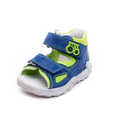 Superfit  Boys Sandal Flow blå/grøn kombi (M) - Gr.Babymode (6-24 måneder) - Dreng - Børnetøj - Array