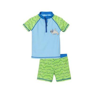 Playshoes UV-beskyttelse Badesæt Sæl - blå - Gr.Babymode (6-24 måneder) - Dreng - Børnetøj - Array