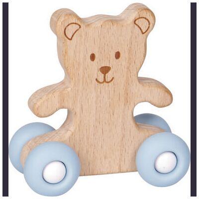 COPPENRATH Push Teddy Babylykke - blå - Børnetøj - Array