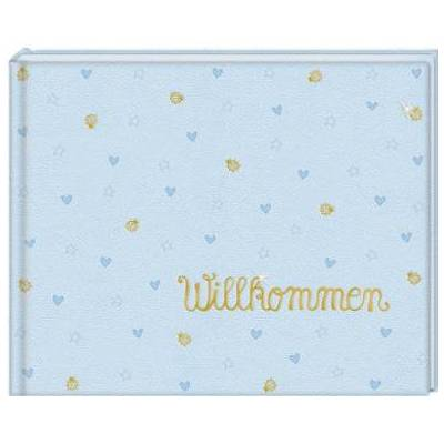 COPPENRATH, Babyalbum Velkommen! Lyseblå - Børnetøj - Array