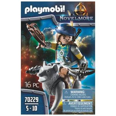 Playmobil NOVELMORE Novelmore Crossbow Shield med Wolf 70229 - flerfarvet - Børnetøj - Playmobil
