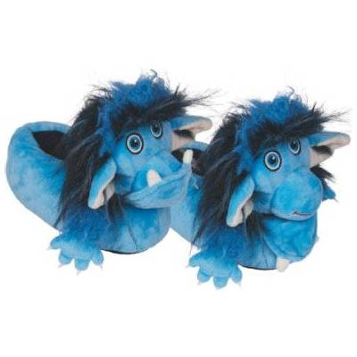 COPPENRATH hjemmesko - Grolltroll en størrelse (størrelse 29/30) - blå - Dreng - Børnetøj - Array