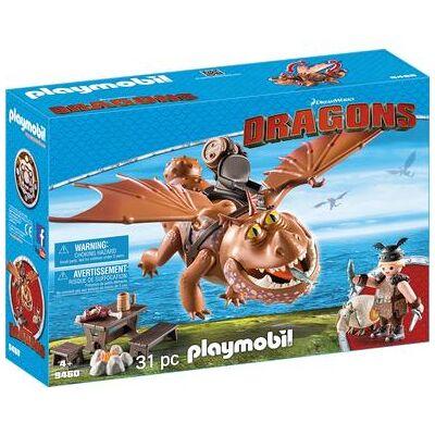 Playmobil DRAGONS Fiskeben og kødklat 9460 - Børnetøj - Playmobil