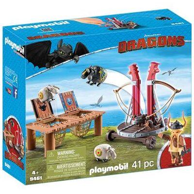Playmobil DRAGONS Grobian med fåreslynge 9461 - Børnetøj - Playmobil