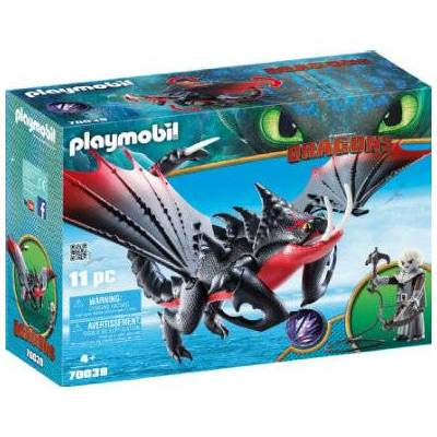 Playmobil DRAGONS Death-Bringer og Grimmel - Børnetøj - Playmobil