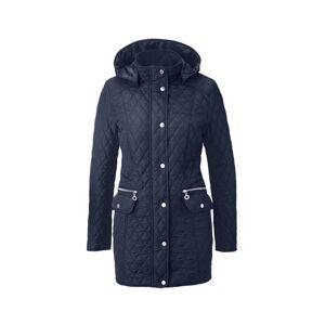 Tchibo Kort frakke med rudequilt, Tchibo Blå 44