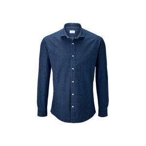 Tchibo Skjorte med cut-away-krave, Tchibo Blå XXL 45/46